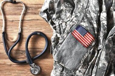 Stethoscope and uniform
