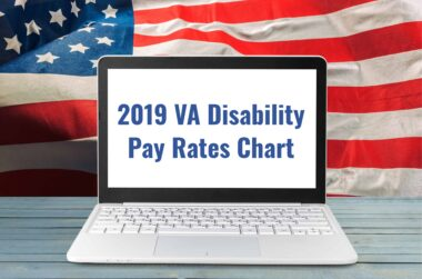 2019 VA pay rates chart header image