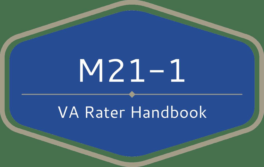 The VA Claims Insider M21-1 VA Rater Handbook - VA Claims