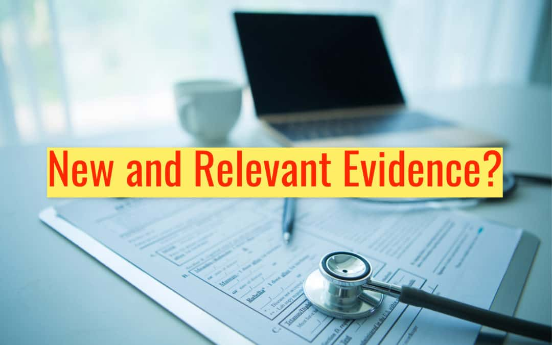 New and Relevant Evidence? How to adequately support your VA Supplemental Claim