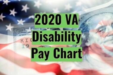 2020 VA Disability Pay Chart