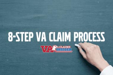 8 step va claim process