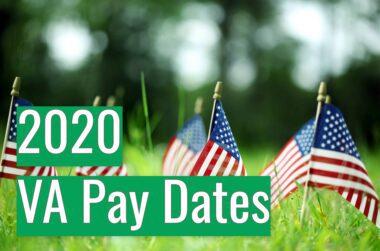 VA Pay Dates 2020