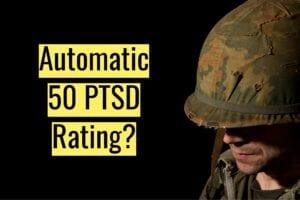 Blog Automatic 50 PTSD Rating