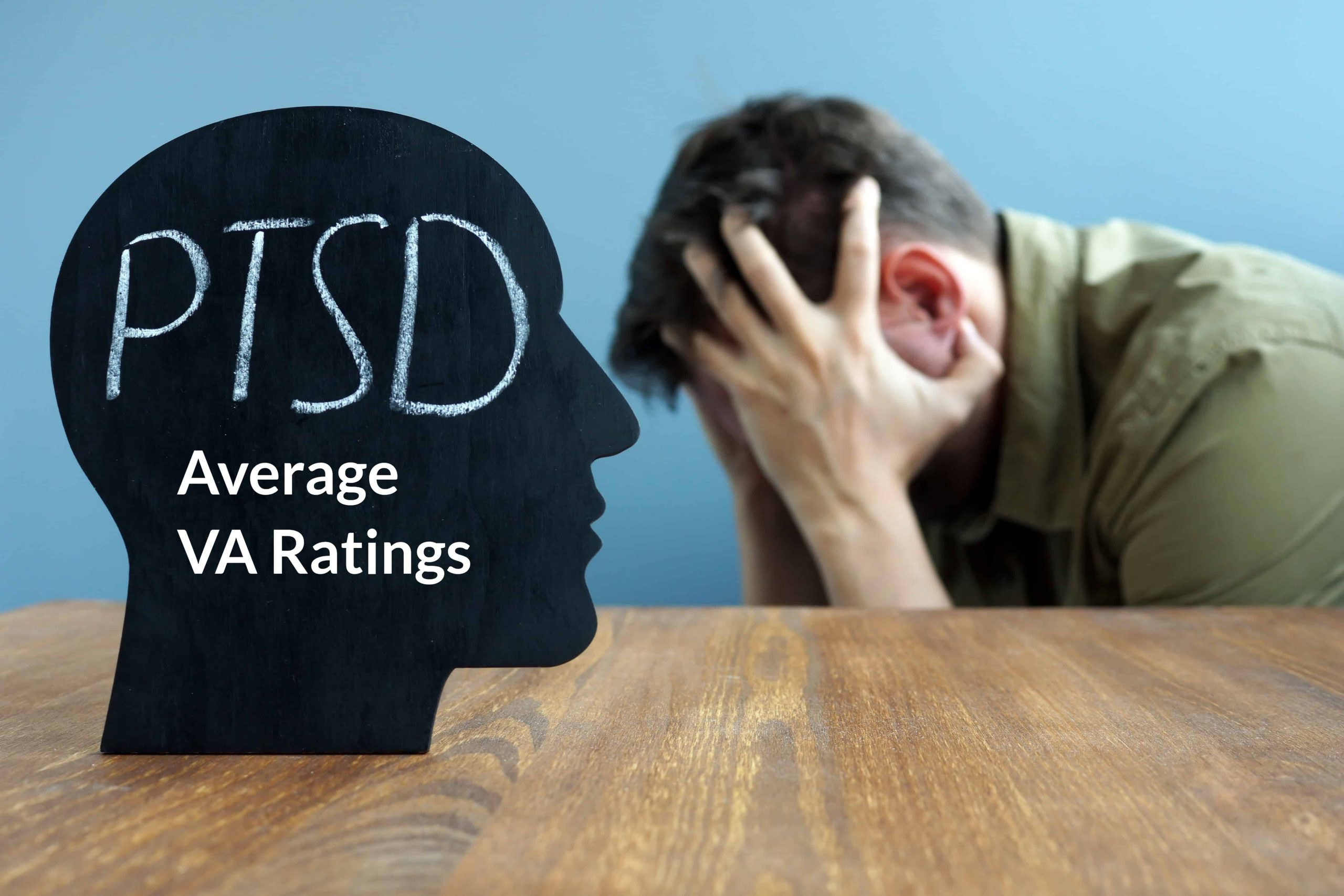 The Average VA Disability Rating for PTSD is 70%