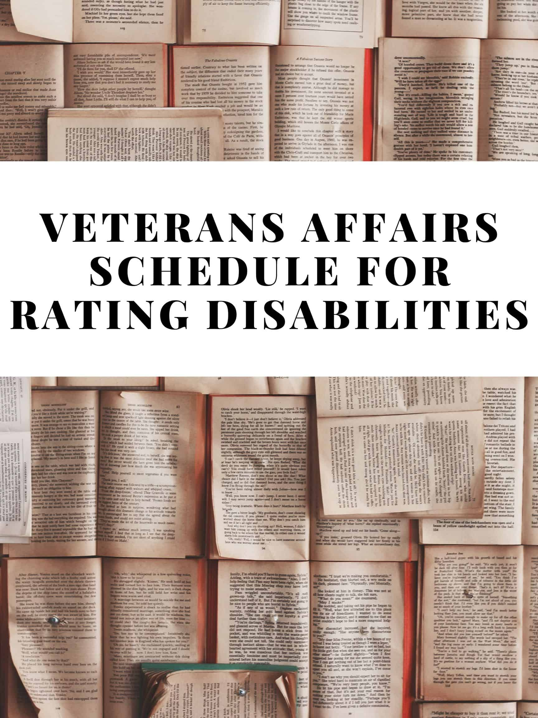 How to Understand the Principles Used by the VASRD 3 Things you NEED for a VA Claim 1