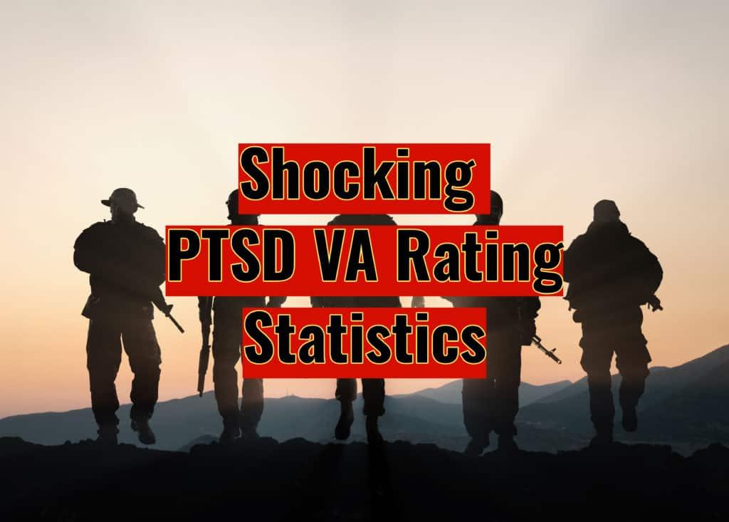 PTSD VA Rating Statistics