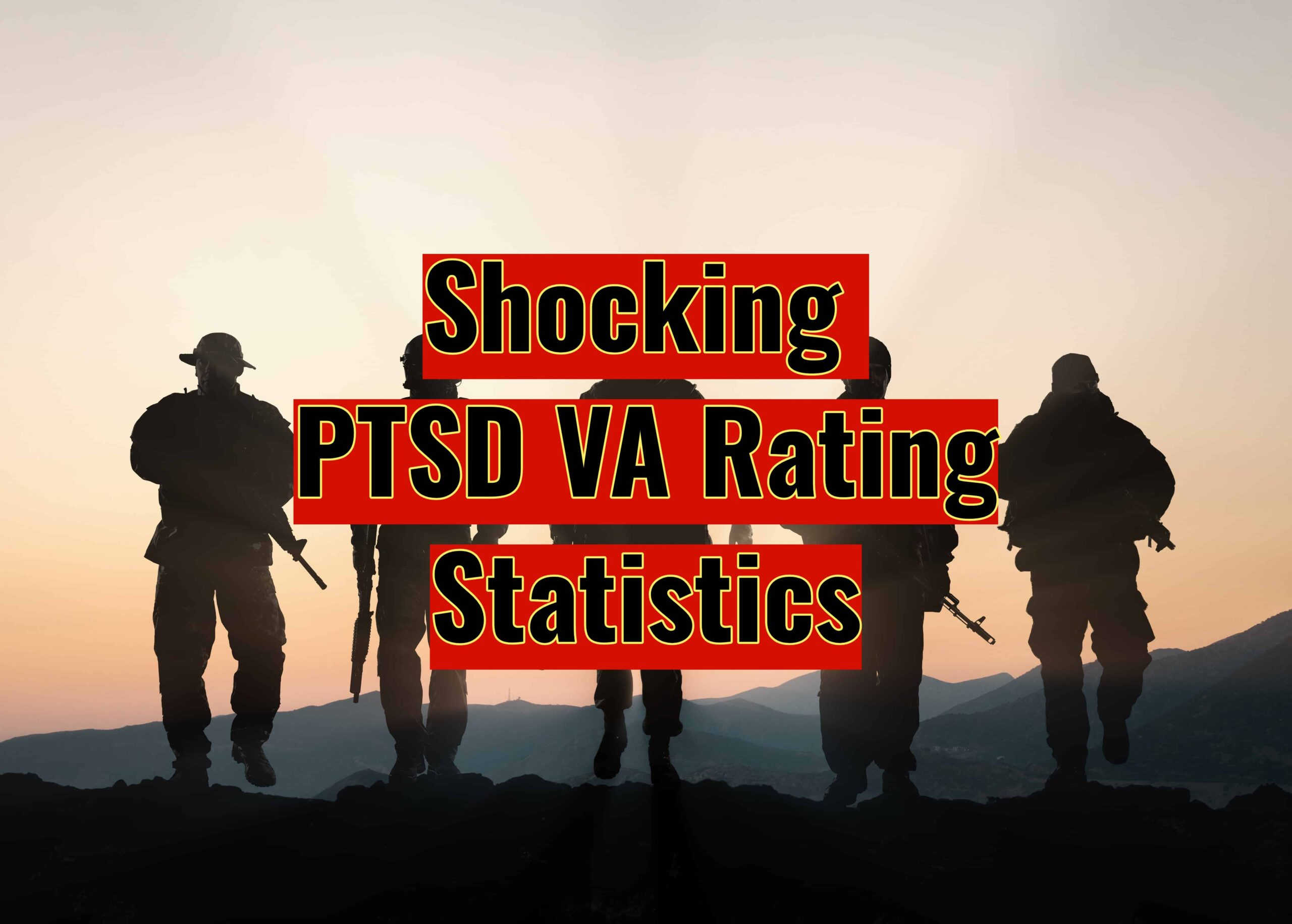 PTSD VA Rating Statistics