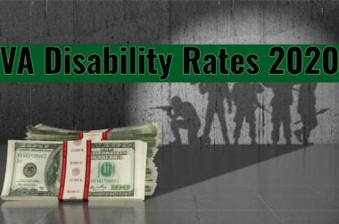 VA Disability Rates 2020
