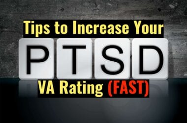 How to Increase VA Disability Rating for PTSD scaled