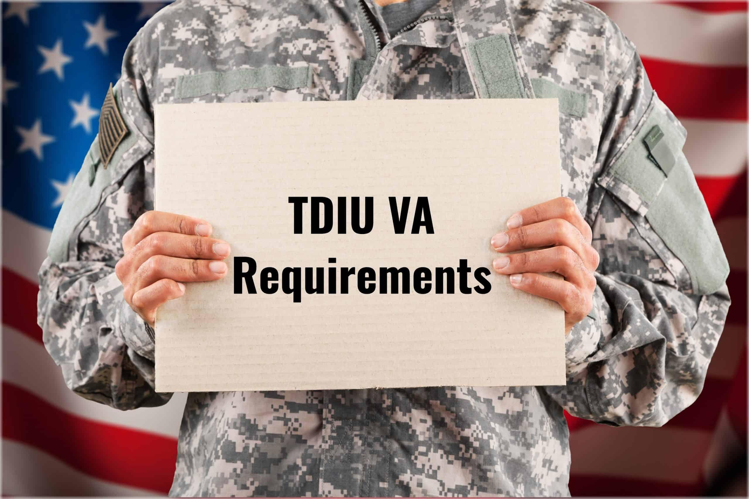 TDIU VA Requirements