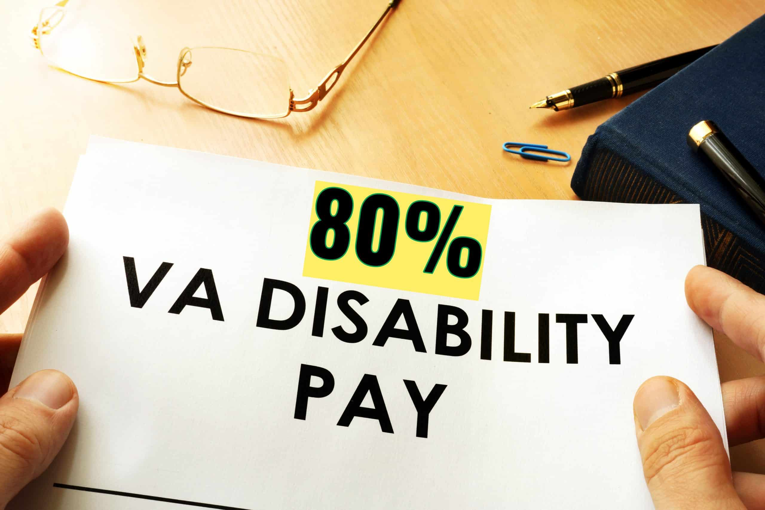 80 Percent VA Disability