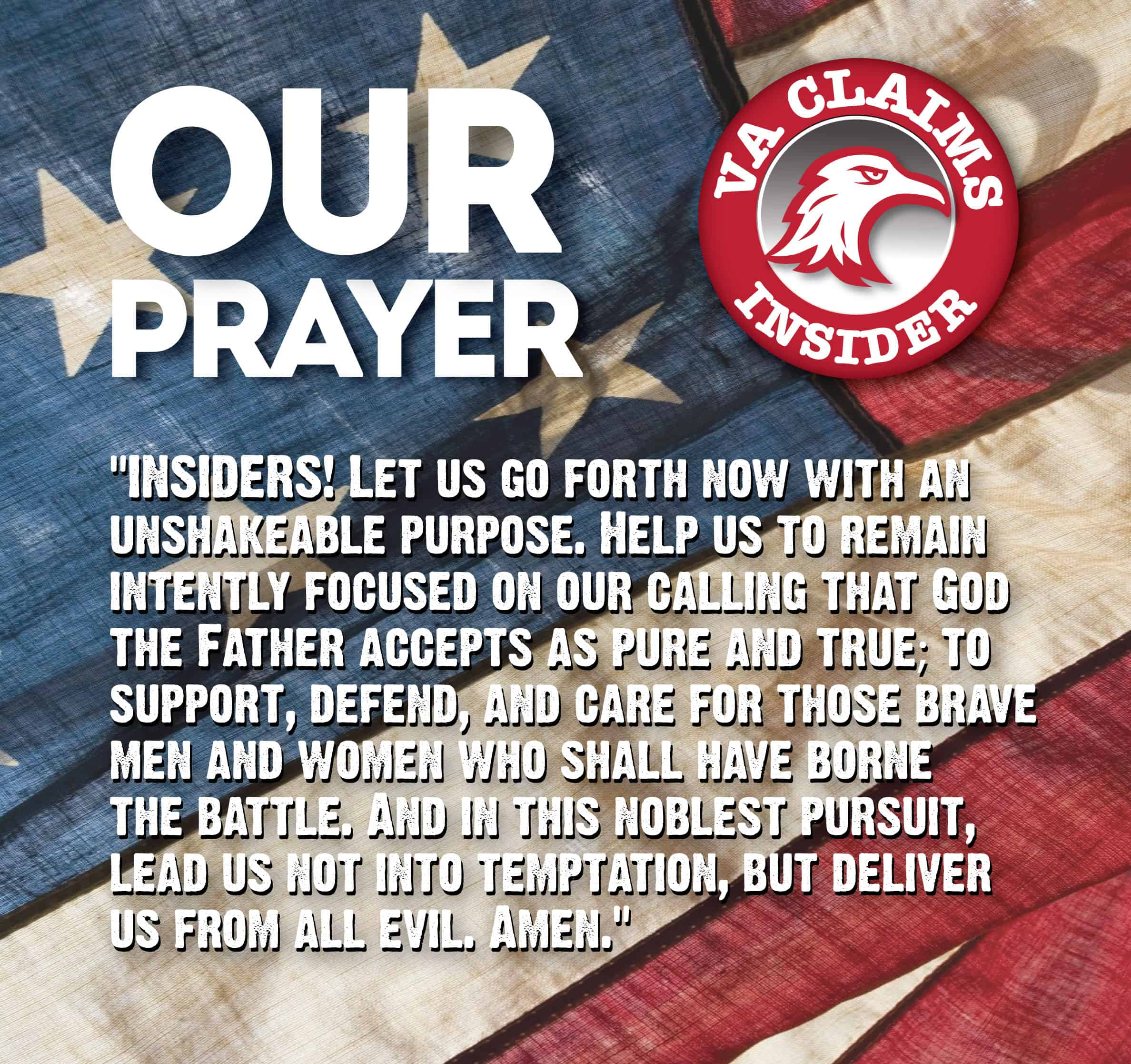 About The Insiders Prayer