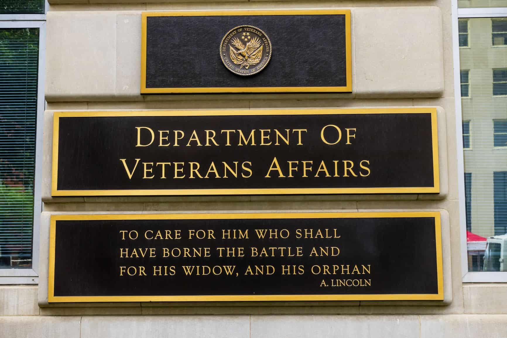 Today's VA Represents a History of Service