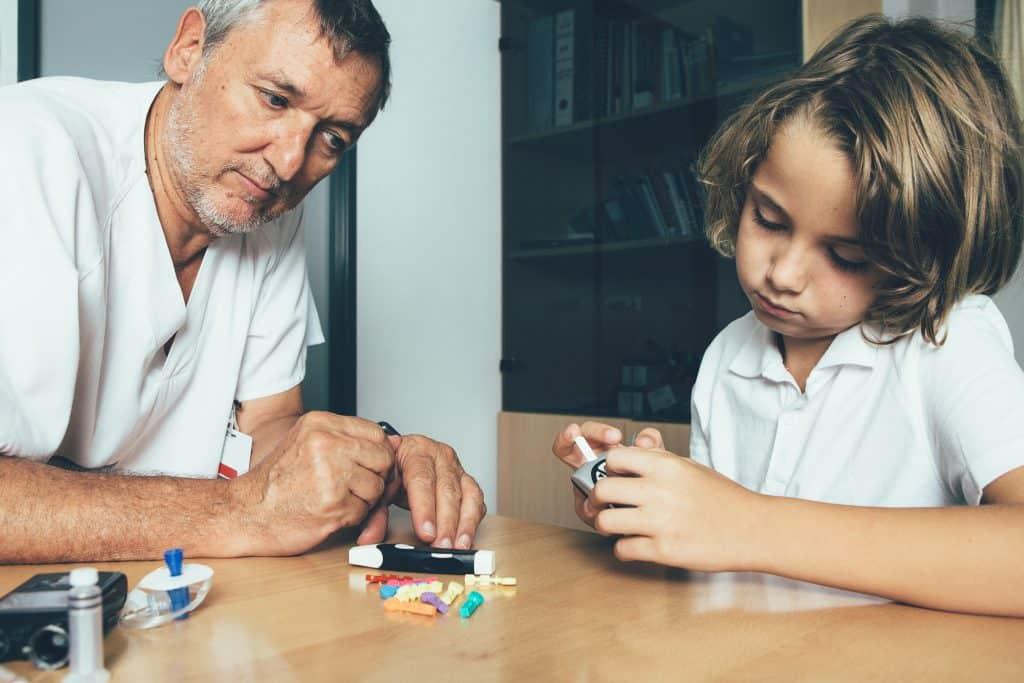 Diabetes can affect children