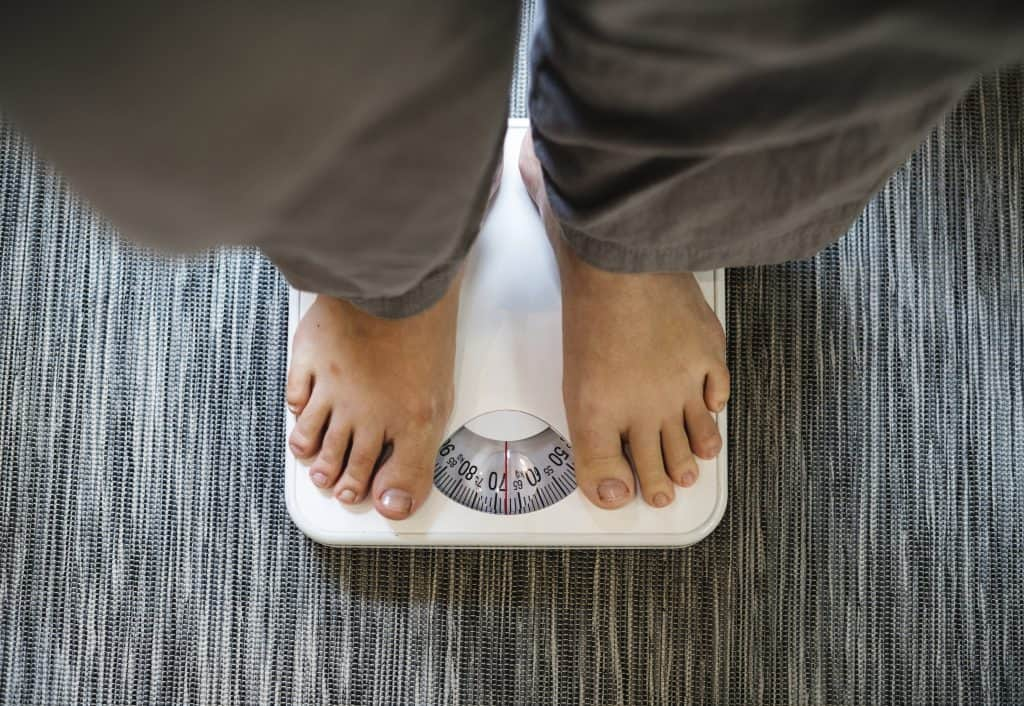 Weight gain can occur from PTSD, and then cause sleep apnea as a secondary condition