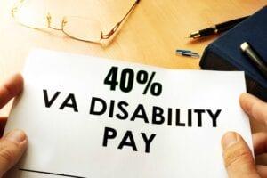 40 VA Disability