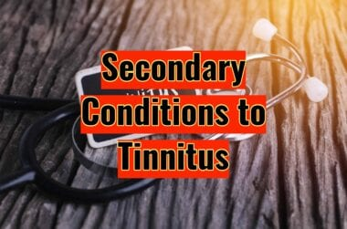 Secondary Conditions to Tinnitus scaled