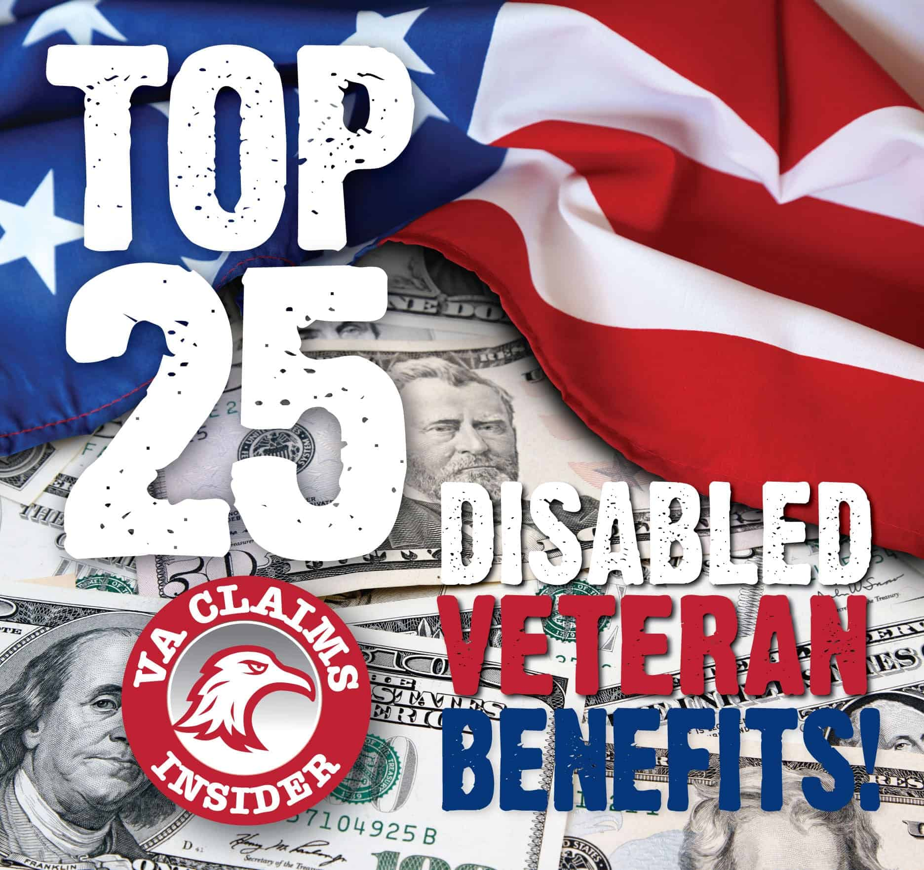 Top 25 Disabled Veteran Benefits