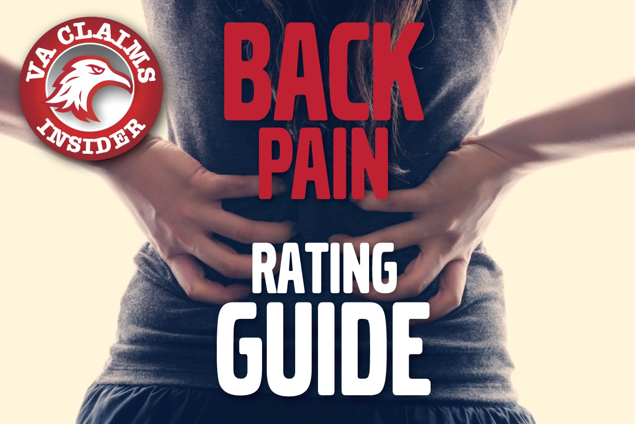 VA Disability Ratings for Back Pain – The Definitive Guide Back Pain Rating Guide min