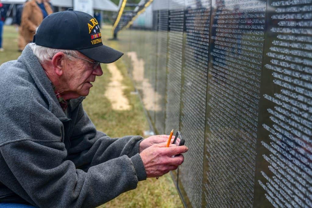 mississippi vietnam veterans memorial walll