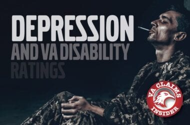 Blog Depression and VA Disability Ratings min
