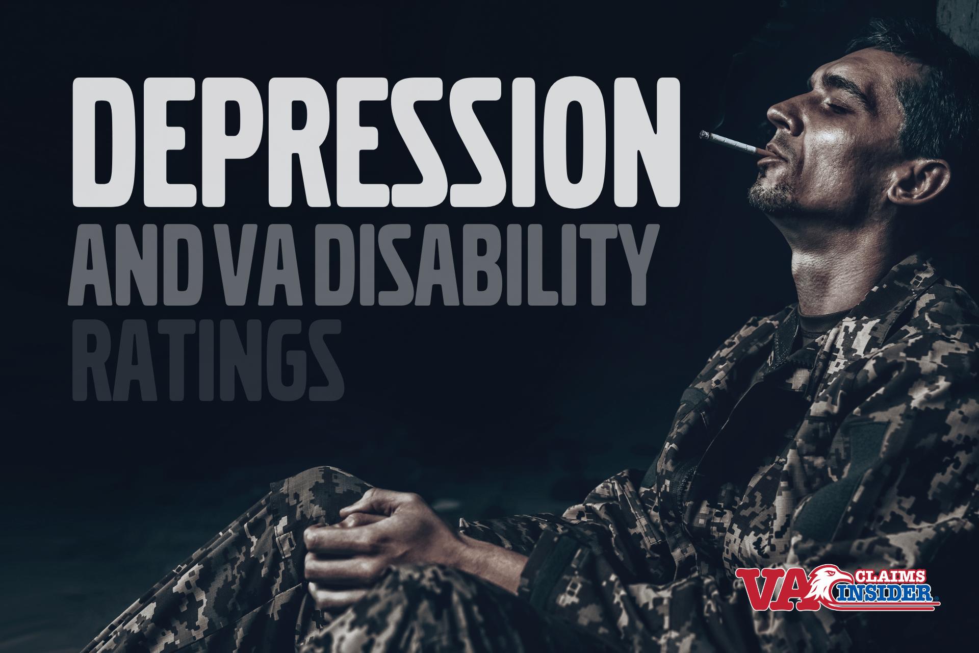 depression va claim