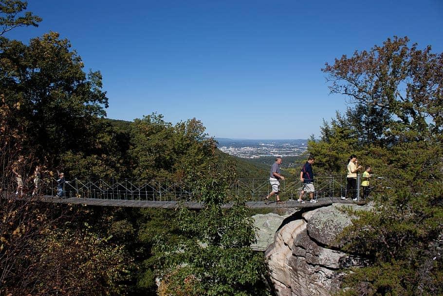 Tennessee Veterans Benefits - The Insider's Guide bridge swinging bridge chattanooga tennessee