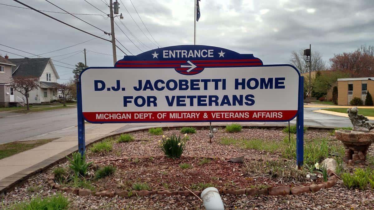 Michigan state veteran homes