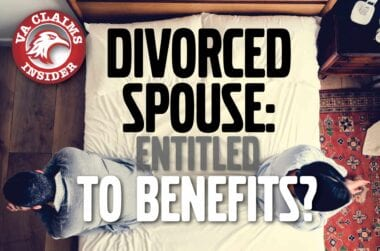 Divorced Spouse Entitled to VA Disability Benefits