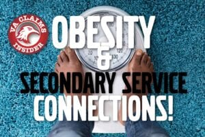 Obestiry and secondary service connection