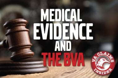 Blog Medical Evidence BVA min