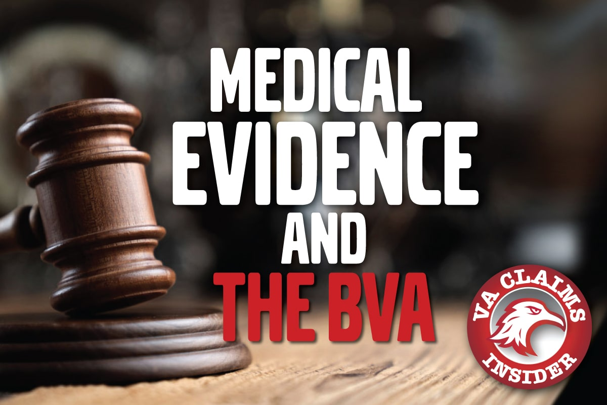 "BVA Case Decision: ""Probative Value"" of Private Medical Evidence Used to Support a Veteran's VA Disability Claim Blog Medical Evidence BVA min"