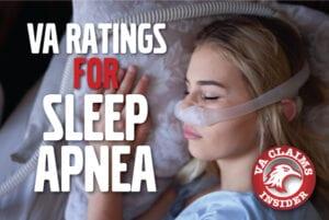 Sleep Apnea VA Rating