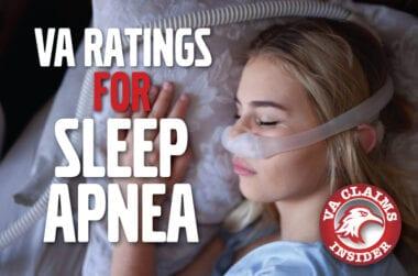Sleep Apnea VA Rating 600x400 1