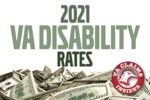 Thank you for your feedback! 2021 VA Disability Rates min
