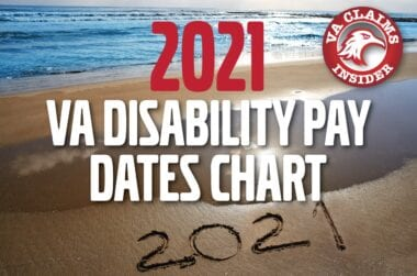 2021 VA Disbility Pay Dates Chart min