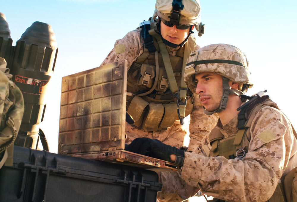 Mail-in voting and absentee voting are useful for active duty service members.