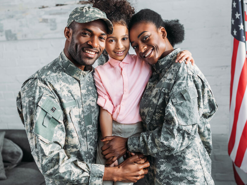 Top 10 Mail-In Voting Tips for the 2020 Election military family with child rev