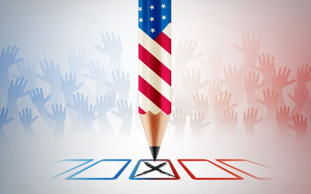 Mail-in voting allows you to take your time to cast your vote at home. Simply, mail your ballot when completed.