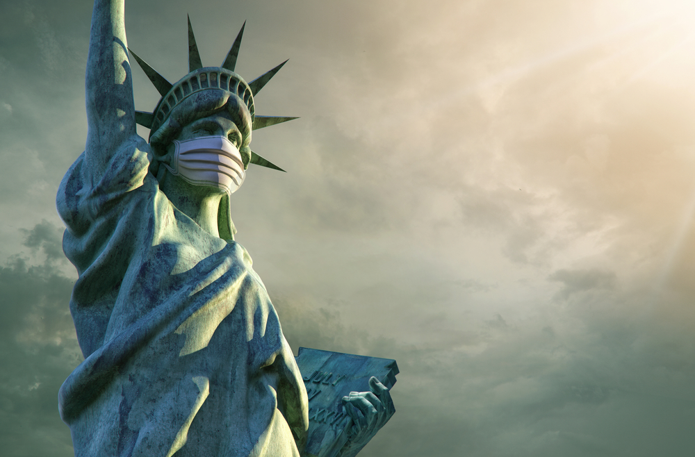 Top 10 Mail-In Voting Tips for the 2020 Election statute of liberty wearing mask 1