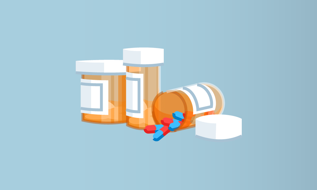 Prescription Medication Illustration