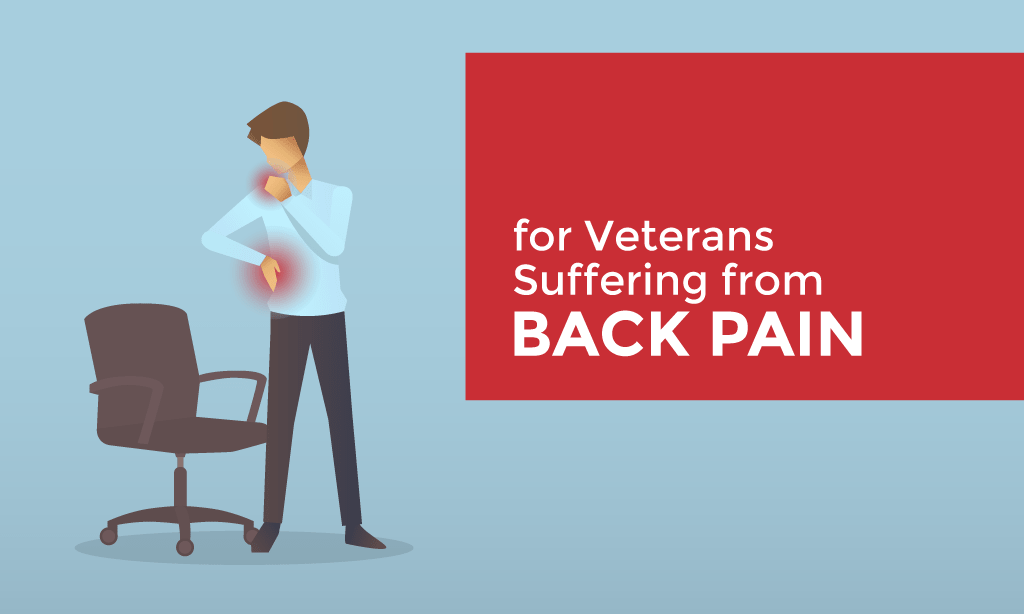 Supporting Image: for Veterans Suffering from Back Pain