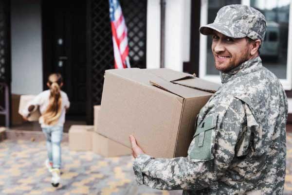 Veteran moving day