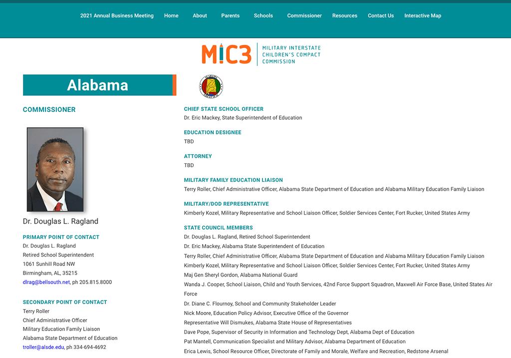 Benefits for Alabama Veterans Children