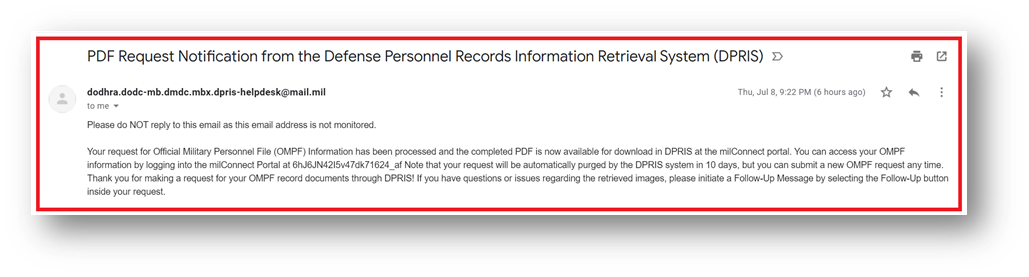 DD 214 Online is Ready for Download with DPRIS