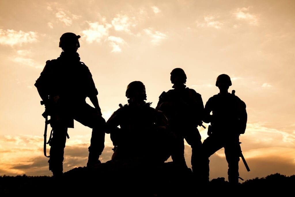 What is active service in the Armed Forces