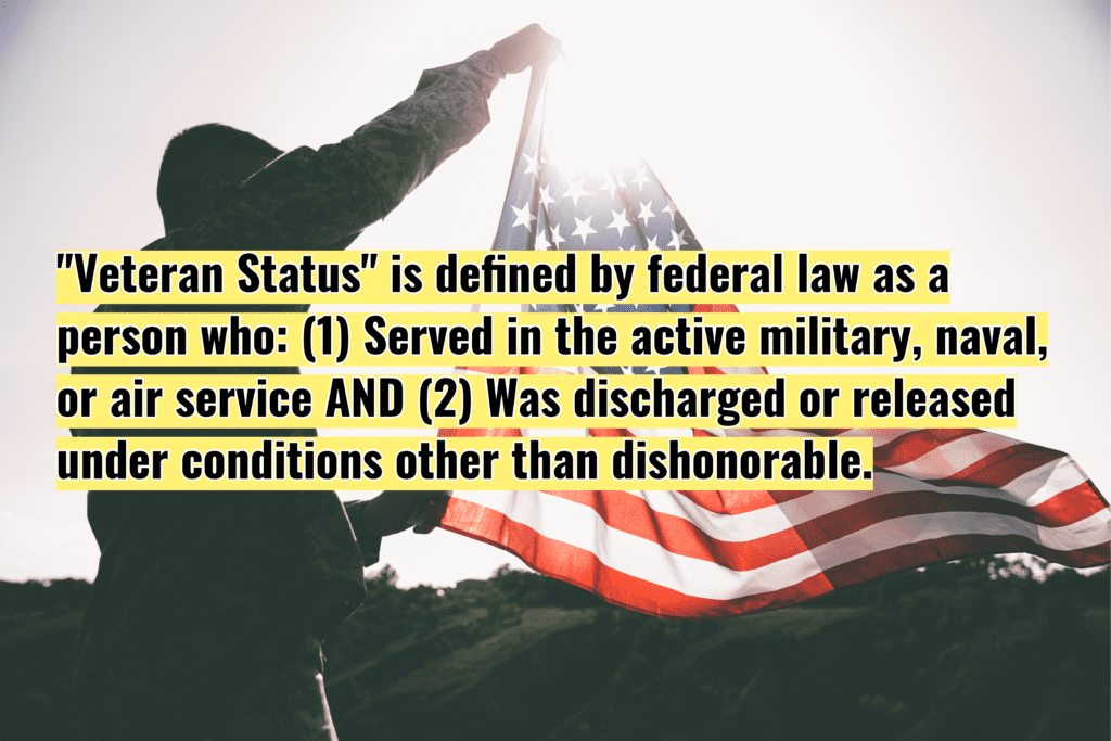 What is my veteran status