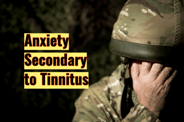 depression and anxiety secondary to tinnitus